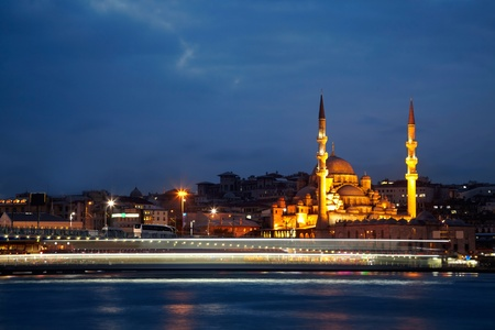 New Mosque (Yeni Cami). Istanbul, Turkey Stock Photo
