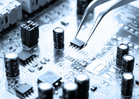 assembling: Assembling a circuit board