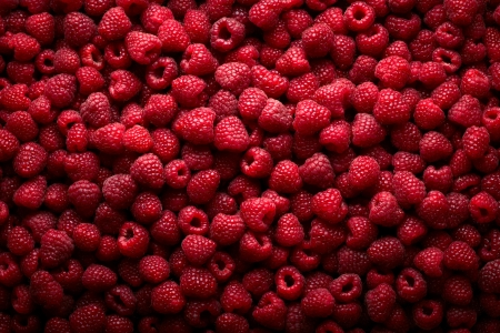 Raspberry fruit background Stock Photo