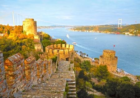 hisari: Fortress Rumelihisar  Istanbul, Turkey  HDR