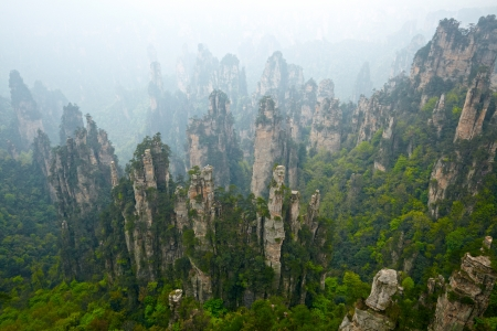 Zhangjiajie National Park, China. Avatar bergen Stockfoto