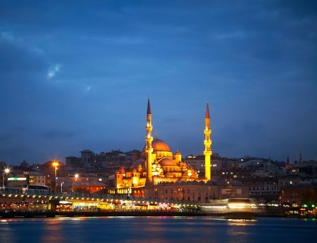 cami: New Mosque (Yeni Cami). Istanbul, Turkey Stock Photo