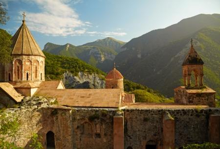 armenia: Ancient Armenian monastery Editorial