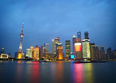 Gratte-ciel de Shanghai vue classique du Bund