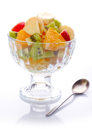 fruity salad: Fruit salad  Stock Photo