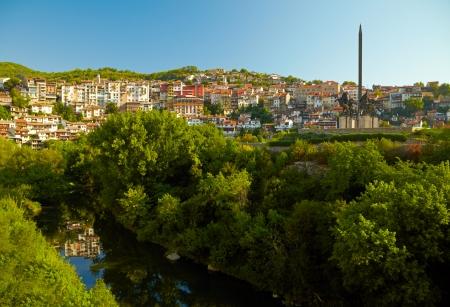 veliko: Old town of Veliko Tarnovo. Bulgaria Stock Photo