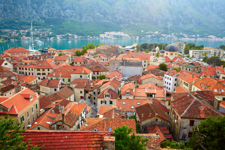 Roofs of Kotor old town. Montenegro photo