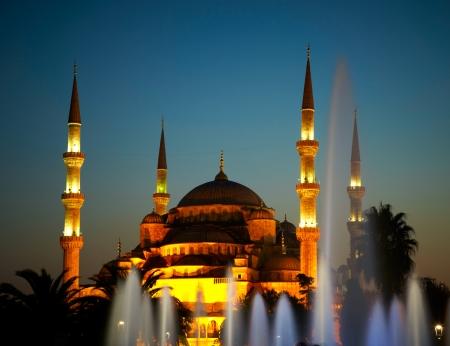 blue mosque: Sultan Ahmet Camii (Blue Mosque). Istanbul, Turkey Stock Photo