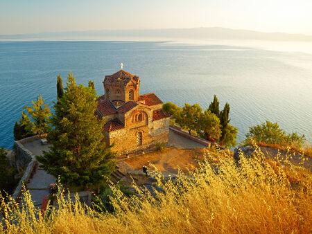 Church of St. John at Kaneo. Ohrid, Macedonia