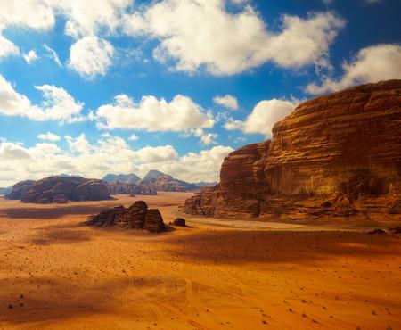 Wadi Rum desert, Jordan photo