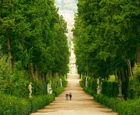 florence italy: Boboli Gardens   Florence Italy