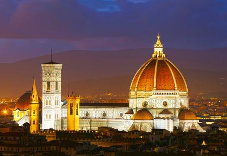 Catedral de Santa Maria del Fiore. Florencia, Italia Foto de archivo - 28294441