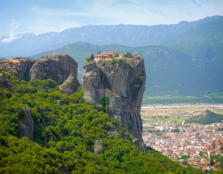 panoramatic: Meteora, Greece