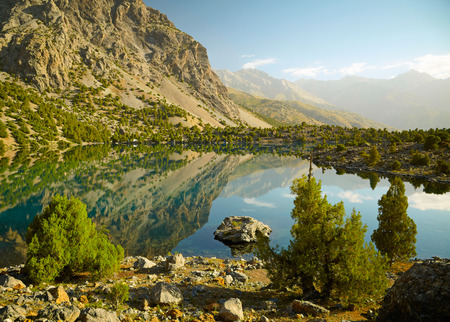 tajikistan: Lake in Fann mountains, Tajikistan