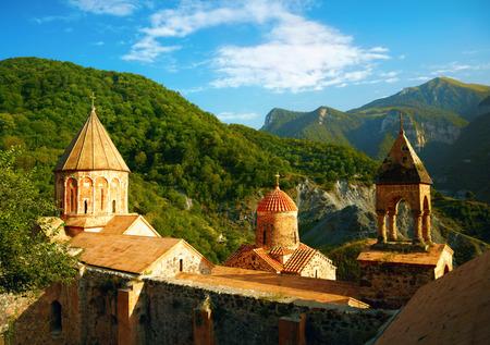 armenia: Ancient Armenian monastery Stock Photo