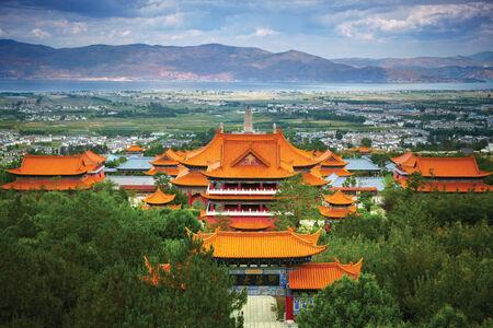chinese culture: Chongsheng Monastery. Dali, China