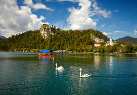 bled: Bled lake. Slovenia