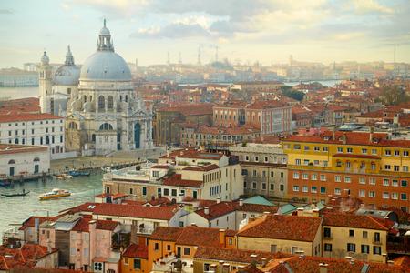 maria: Grand Canal and Basilica Santa Maria della Salute. Venice, Italy