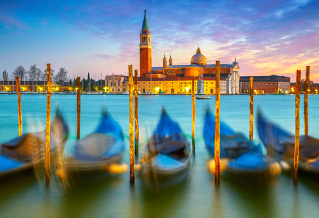 marco: Sunset in Venice. Italy