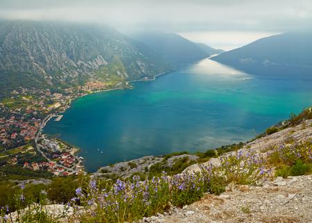 The Kotor bay, Montenegro photo