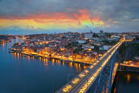 porto: Citylights of Porto, Portugal