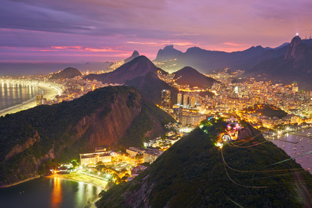 리오 데 자네이로, 브라질의 야경