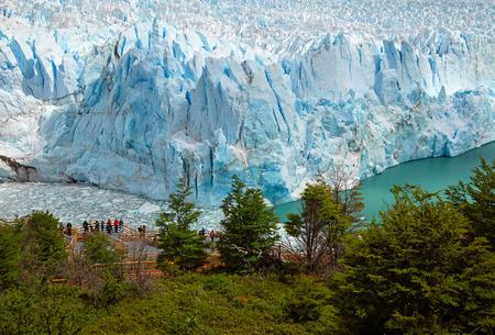 moreno glacier: Perito Moreno Glacier Stock Photo