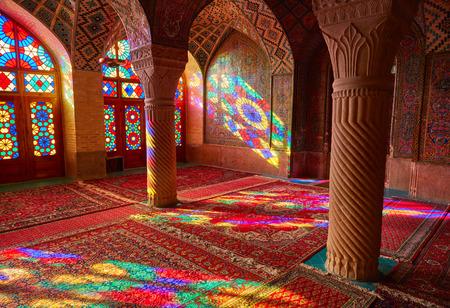 sunni: Nasir al-Mulk mosque (Pink mosque). Shiraz, Iran