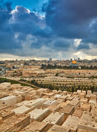 エルサレム旧市街。イスラエル 写真素材
