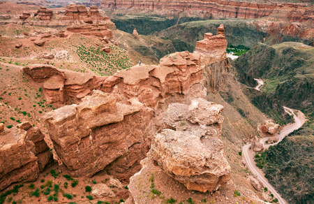 Charyn canyon. Almaty region, Kazakhstan