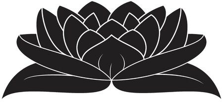 illustration of great lotus  Stock Vector - 24867800