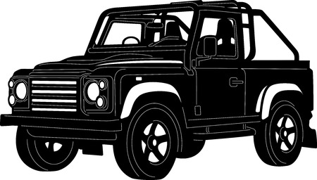 4x4 Truck Vector