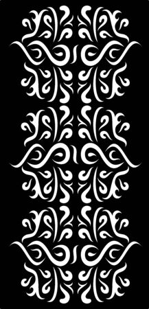 cnc: illustration of great Ornaments Wall arts ready for print and cut with CNC