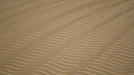 ridged: Bright sun on ridged patterned sand in Corralejo, Fuerteventura, Canary-islands, Spain