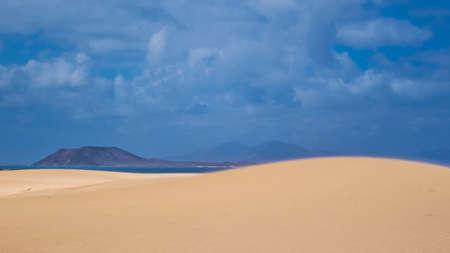 corralejo: The magic of light, Park Natural, Corralejo, Fuerteventura, Canary islands,Spain