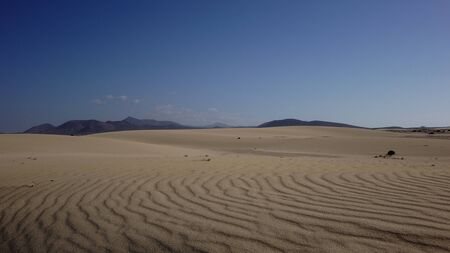 corralejo: Sand patterns in the Natural park,Corralejo,Canary-islands,Spain
