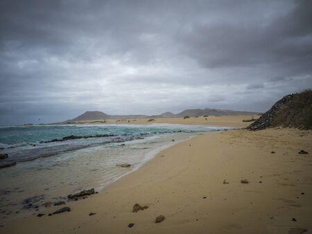 corralejo: Corralejo natural reserve in Fuerteventua the Canary- Islands, [Canary Islands] Spain
