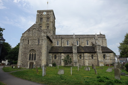 St Mary de Haura anglican Church, Shoreham-by-Sea,West Sussex Editorial