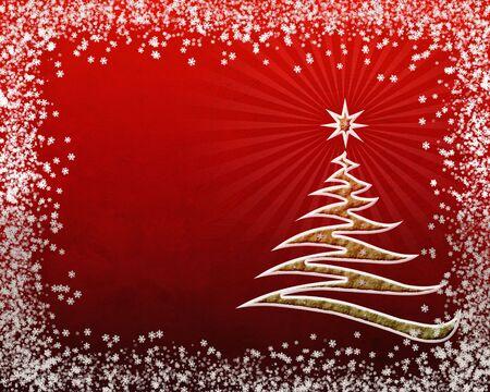Christmas framework Stock Photo - 3930285