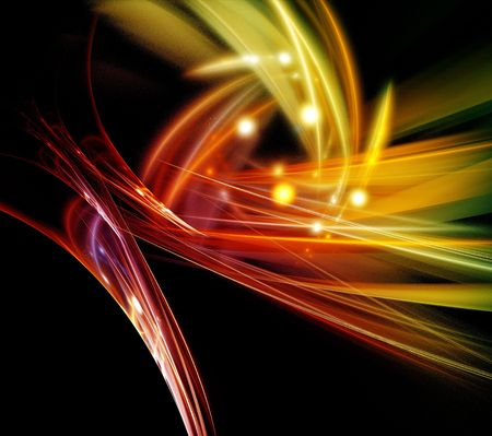 Abstract Fractal Background Stock Photo - 4030231