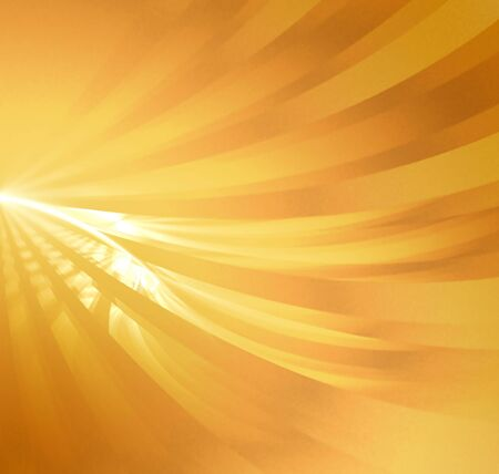 Abstract background. gold yellow palette. raster fractal graphics. Stock Photo