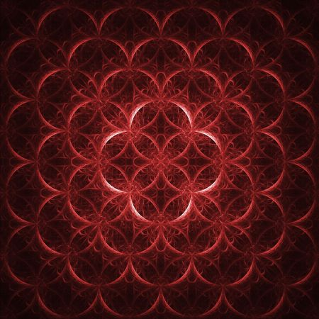 red swirl: Abstract background with colorful squares