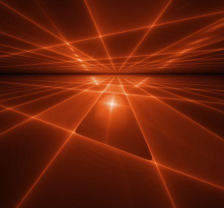 curve line: Abstract background. orange palette.