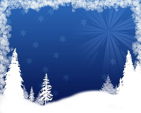 snowy: Grunge Snowflake background Stock Photo