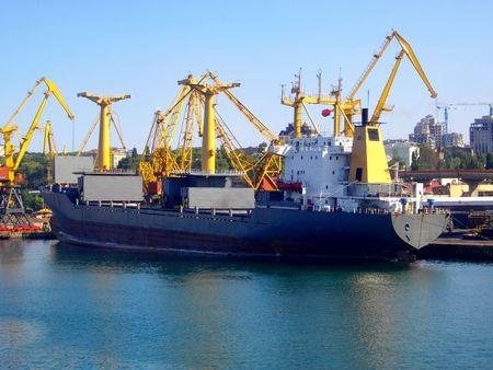 seaport Stock Photo - 6188898