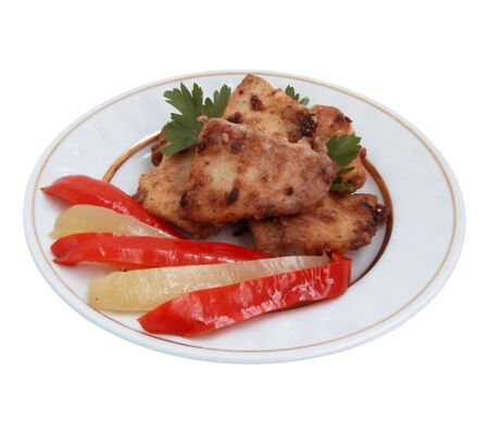 Fried fish  with vegetables Stock Photo - 7898818