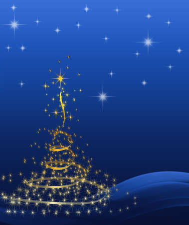 background Christmas (New Year) card . Stock Photo - 8391317