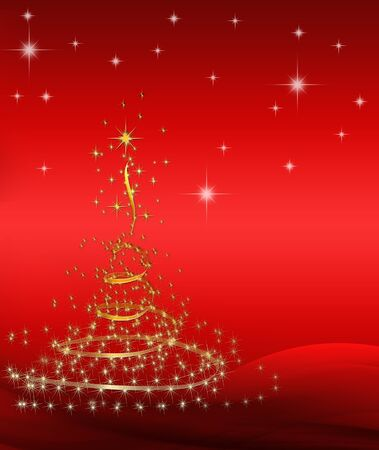 background for Christmas (New Year) card . Stock Photo - 8399583