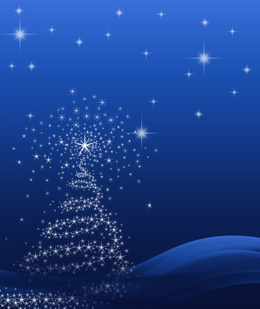 background for Christmas (New Year) card . Stock Photo - 8399582