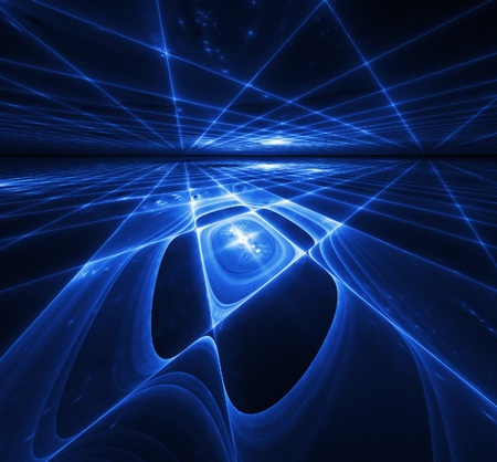abstract background. blue palette. Stock Photo - 8522714